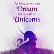 Unicorn Dream Art Print
