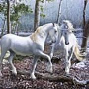 Unicorn Reunion Art Print