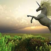 Unicorn Stag Art Print