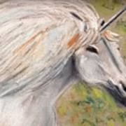 Unicornio Art Print