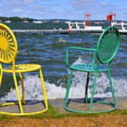 Union Chairs Art Print