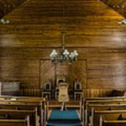 Union Christian Church Sanctuary Art Print