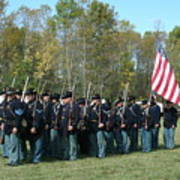 Union Infantry March Art Print