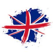 Union Jack - Flag Of The United Kingdom Art Print