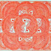 Union  Orange Art Print