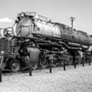 Union Pacific 4012 Art Print