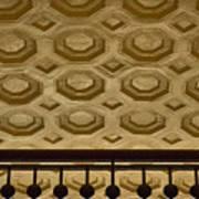 Union Station Ceiling #2 Art Print