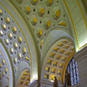 Union Station Ceiling Art Print