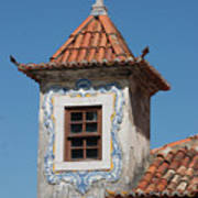 Unique Architecture At Sintra In Portugal Art Print