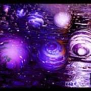 Unique Bubbles Art Print
