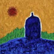Unititled. Stupa Art Print