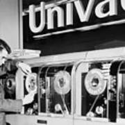 Univac Was The First Computer Designed Art Print