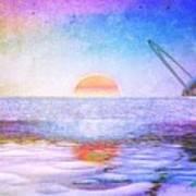 Universal Sunset Art Print
