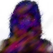 Universe Body Art Print
