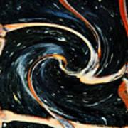 Universe In Motion Art Print