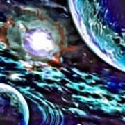 Universe #0071 Art Print