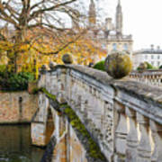University Cambridge 2 Art Print