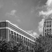 University Of Michigan Natural Sciences Building With Burton Tower Art Print by University Icons