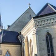 University Of Notre Dame Basilica  Art Print