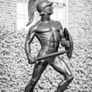 University Of Southern California Tommy Trojan Statue Art Print
