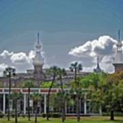 University Of Tampa Art Print