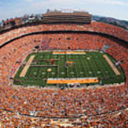University Of Tennessee Neyland Stadium Art Print by University of Tennessee Athletics