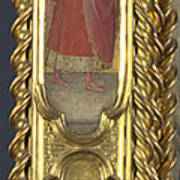 Unknown Saint Saint Cosmas And Saint Francis Art Print