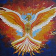 Unleashing The Holy Spirit Art Print