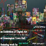 Unofficial Grassington Festival Poster Art Print