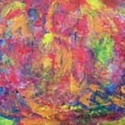 Unseen Angels Everywhere Art Print