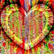 Unsettled Heart Art Print by Fania Simon