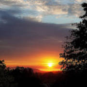 Until We Meet Again- Oregon Sunset Art Print