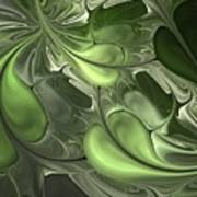 Untitled 1-26-10 Pale Green Art Print