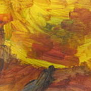 Untitled 117 Original Painting Art Print