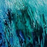 Untitled Blue Art Print