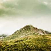Untouched Mountain Wilderness Art Print