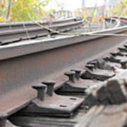 Unused Rail Art Print