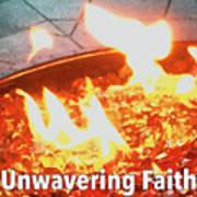 Unwavering Faith Art Print