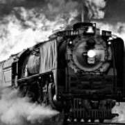 Up 844 Steaming It Up Art Print