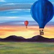 Up And Away Art Print