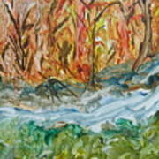Up The Creek Art Print