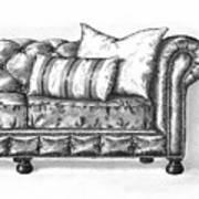 Upholstered Art Print