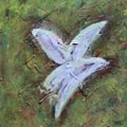 Upon Angels Wings Of Change Art Print