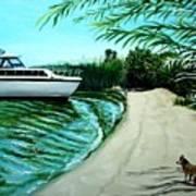 Upon Ashore Art Print