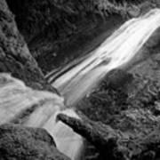 Upper Madison Creek Falls Three Art Print
