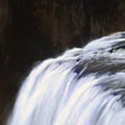 Upper Mesa Falls Art Print