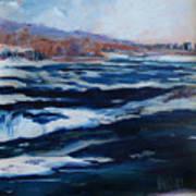 Upper Rapids Niagara Falls Art Print