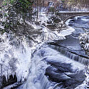Upper Taughannock Winter Art Print