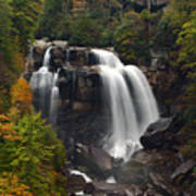 Upper Whitewater Falls - Nc Art Print