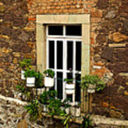 Upper Window Art Print